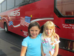 Camp Eagle Ridge transportation.